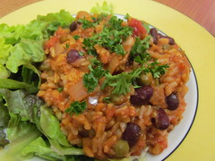 Seitanic Red and White Bean Jambalaya (dimsimkitty) Tags: veganomicon