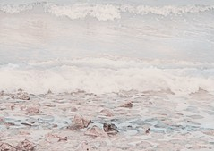I ride rough waters (Peter Tatsis) Tags: travel pink blue sea sky sun inspiration hot art nature water vintage landscape polaroid photography sadness model scenery artist waves sad artistic grunge hipster style exhibit minimal pale greece indie boho artifact paleblue tumblr palegrunge
