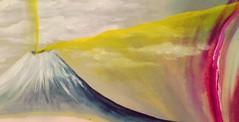 ( Los volcanes ) (Felipe Smides) Tags: pintura volcán wallmapu smides felipesmides