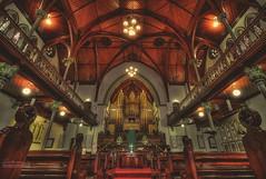 Albert Street Uniting Church ( : LIU Photography ) Tags: street travel church canon landscape photography catholic albert sydney australian australia melbourne brisbane chamber hdr uniting 1635l 1dx