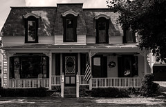 13 Water Street (LJS74) Tags: blackandwhite bw house monochrome architecture fingerlakes hammondsport historichouse