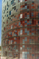 Torre Agbar - Barcelona (James D Evans - Architectural Photographer) Tags: agbartower architecture barcelona catalonia skyscraper torreagbar tower archoptical