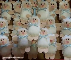 Chaveiros Ovelhinha (mfuxiqueira) Tags: chaveiro lembrancinha lembancinhamaternidade ovelhinha ovelha carneirinho