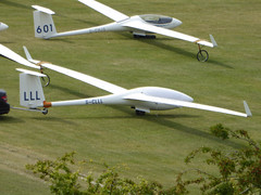 G-CLLL / LLL Schleicher ASW 27-18 E cn 29668 Dunstable Downs 18Aug16 (kerrydavidtaylor) Tags: glider sailplane gliding