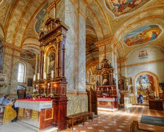 The Lord's Tables (Rev.Gregory) Tags: altar image jesus christ church presentation basilica wadowice poland interior ornate