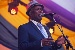 Booker T @ Mostly Jazz Festival 5 (preynolds) Tags: concert livemusic dof raw tamron2470mm frontman singer singing festival stagelights suit hat birmingham moseleyprivatepark moseley counteractmagazine noflash soul musician music mostlyjazz2016 bookertjones tamronsp70200f28divcusd tamron70200