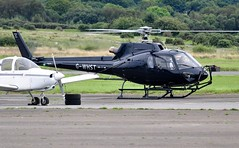 G-WHST (goweravig) Tags: gwhst eurocopter ecureuil helicopter visiting aircraft swansea wales uk swanseaairport cheshirehelicopters