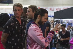 Joel Kinneman and Jared Leto SDCC 2016 (TeamNovak) Tags: sandiego comiccon sdcc 2016 cosplay popculture event convention celebrity comics movies movieprops collectibles fun karenfukuhara joelkinneman jaredleto willsmith violadavis margorobbie caradelevingne