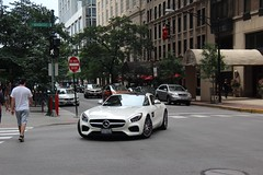 AMG (Ethan Boelkins) Tags: amg gts mercedes sportscar supercar german v8 biturbo downtown chicago white