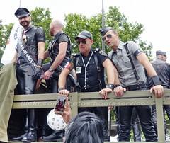 """bootsservice 16 490044 (bootsservice) Tags: paris """"gay pride"""" """"marche des fiertés"""" bottes cuir boots leather sm motards motos motorcyclists motorbiker caoutchouc rubber uniforme uniform orlando"""