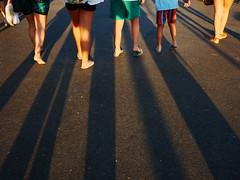 Walking Back home (Jose Viegas) Tags: sunsetlight walkingonthestreets warmlight peoplewalking shadows colorstreetphotography panasonicgx80 vilamoura algarve portugal