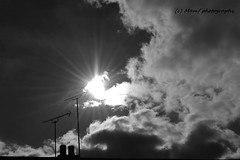 Sunshine over Morley. (MAMF photography.) Tags: august blackandwhite blackwhite britain bw biancoenero beauty clouds england enblancoynegro evening flickrcom flickr google googleimages gb greatbritain inbiancoenero leeds ls27 mamfphotography m mamf monochrome morley morleyleeds nikon noiretblanc noir negro north nikond7100 northernengland photography pretoebranco sex schwarzundweis schwarz summer sky blancoynegro blanco blancoenero uk unitedkingdom upnorth westyorkshire yorkshire zwartenwit zwartwit zwart