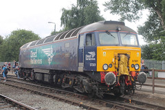 57301-CW-23072016-2 (RailwayScene) Tags: class57 57301 goliath directrailservices drs crewe grestybridge