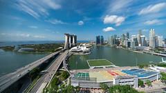 Blue Wednesday (JamCanSing) Tags: singapore marinabay marinabaysands artsciencemuseum floatingplatform cbd financial district bay gardensbythebay gbtb merlion shoppes helixbridge sony sonysg sonyalphaprofessionals