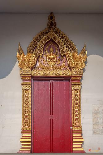 Wat Santiwan Phra Wihan Door (DTHCM0982)
