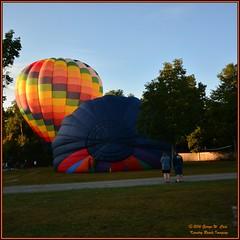 Saturday Morning at the KOA (George Case, Kountry Roads Imaging) Tags: georgecase kountryroadsimaging copake newyork koa nikond7000 hotairballoons