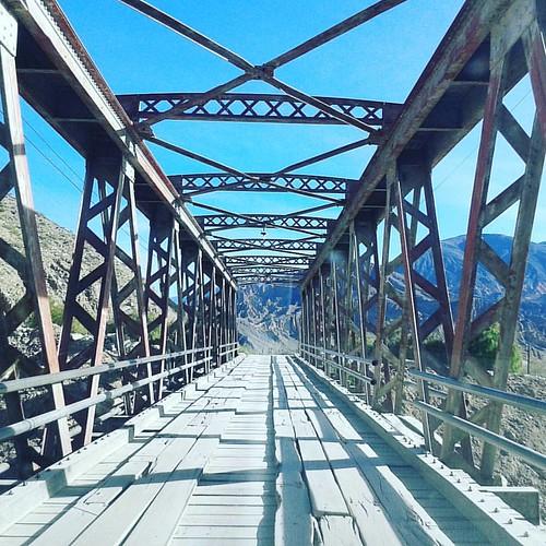 Puente al Pucará de Tilcara.