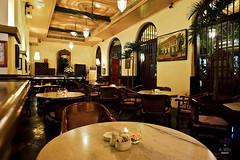Tables in the cafe (A. Wee) Tags: cafebatavia cafe jakarta  indonesia  kotatua restaurant