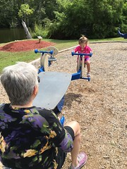 """Trying out the seesaw • <a style=""""font-size:0.8em;"""" href=""""http://www.flickr.com/photos/75865141@N03/29425388645/"""" target=""""_blank"""">View on Flickr</a>"""