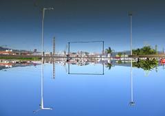 Guided Framing (andressolo) Tags: distortion distortions distorted reflection reflect reflected reflections reflejos reflejo vigo puerto water agua