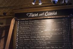 Taps and Casks (Stephen Gardiner) Tags: toronto ontario 2016 yongestreet barvolo lastdaysatvolo closing beer bar brewing patio pentax k3ii 1645