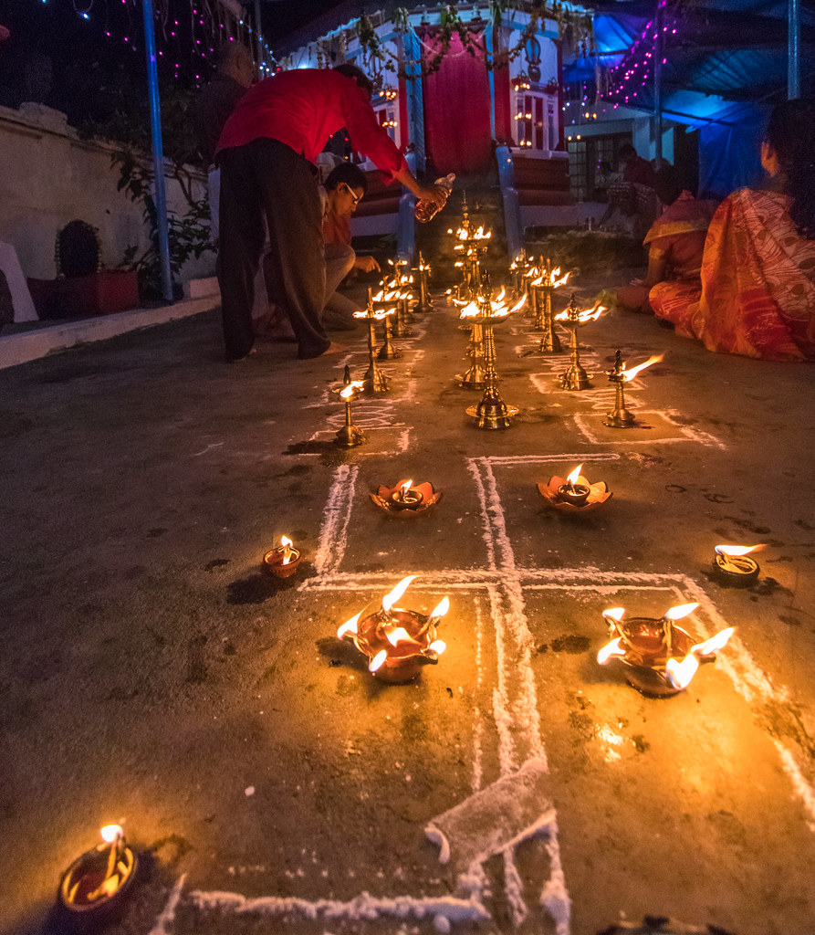 Chamayavilakku Photos: The World's Best Photos Of Devi And Kerala