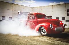 Wild Willys (Stuart Mitchell) Tags: willys drag car racing hotrod truck pickup smokey burnout