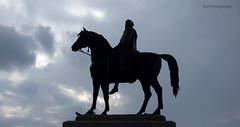 1-DSCF9128 (SLHPhotography1990) Tags: london statue horse silhouette