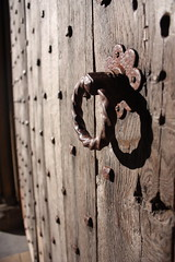 Door (Anita K Firth) Tags: door cathedral religious religion wood handle latch studs woodwork carved ripon north yorkshirewooden