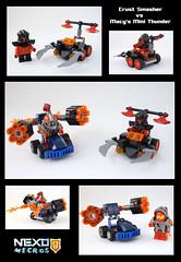 Nexo Micros #4 (SmallFrost) Tags: lego nexo knights mighty micro macy
