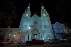 Saints Peter & Paul Church (JBernadez) Tags: sanfrancisco california northbeach coittower saintspeterpaulchurcharchitecturecityurbanstreetphotographycanoncanon ef 1635mm f28 usm night