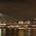 Köln Severinsbrücke Kranhäuser Rheinauhafen