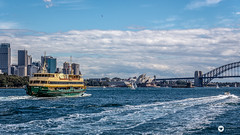 harbour (The Photo Smithy) Tags: operahouse sydneyharbour sydneyheads bridge coast ferry australia sydney newsouthwales nsw manlyferry mvcollaroy sydneyoperahouse sydneyharbourbridge harbourbridge outdoor water waterway