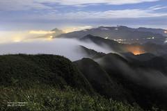 Mt.Wufen, Taiwan _IMG_2920 (Len) Tags: 1635lii 6d 757m blackcard ef1635mmf28liiusm landscape mountain newtaipeicity rueifang ruifang sky steamfog taiwan wufen wufenshan clouds fog mist nightscape