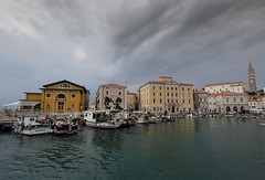 Piran outer harbour. (Chris Firth of Wakey.) Tags: piran istria slovenia