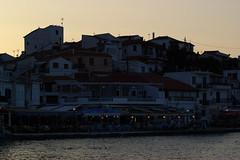 By sunset (Steenjep) Tags: samos holiday ferie greece grkenland kokkari sun sunset solnedgang havn harbour homes restaurant light shadow