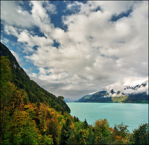 Amazing view on Lake Giessbach