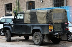 C599 VUY (Nivek.Old.Gold) Tags: 1985 land rover 110 softtop 2500cc diesel