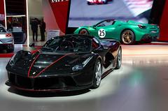Ferrarri LaFerrari Aperta & 488 Spider (Joseph Trojani) Tags: ferrari laferrari 488 spider aperta nikon d7000 salondelautomobileparis2016 auto motor show paris motorshow