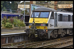 No 90012 Royal Anglian Regiment 19th Oct 2016 Ipswich (Ian Sharman 1963) Tags: no 90012 royal anglian regiment 19th oct 2016 ipswich rila rail data equipment class 90 electric station engine railway railways train trains loco locomotive passenger greater anglia london liverpool street norwich