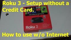 Roku setup without a credit card (RokuComSupport) Tags: rokucomsupport roku account setup rokusetup help rokucom link com