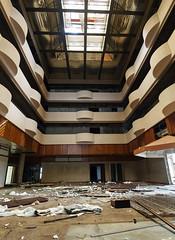 Monte Palace lobby 1 (hoekmannen) Tags: abandoned miguel hotel hall do palace lobby ballroom vista monte sao foyer destroyed são rei azores hotell azorerna övergivet förstörelse förstört hökmannen hoekmannen hokmannen