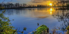 Sunset  Bolam Lake Belsay uk (saleem shahid) Tags: