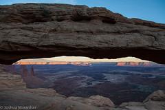 Canyonlands Sunset (joshuamaranhas) Tags: park arch national canyonlandsnationalpark canyonlands mesa