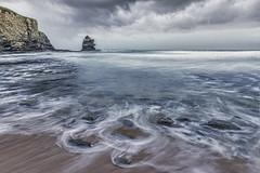 PENICHE 1 (pablobartrina) Tags: water mar rocks cielo romantic perspectiva distance nube roca acantilado distancia