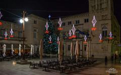 Zadar - Narodni trg (Milan Z81) Tags: night croatia zadar trg adriatic hrvatska no jadran dalmatia dalmacija narodnitrg