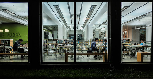 Tongji University Library by mripp, on Flickr