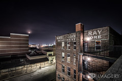 McAtee's at Night (AP Imagery) Tags: history night landscape store downtown ray parkinggarage historic department owensboro lyddane mcatees