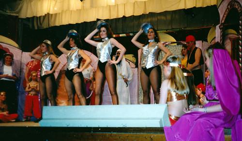 1992 Ali Baba 15 (from left Victoria O'Mara, Rita Hampton,x,x,x, Renata Green)