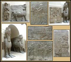 Au Louvre, ils sont à l'abri, espérons le.... (badrx_hn) Tags: khorsabad palaisdesargonii sargonii muséedulouvre